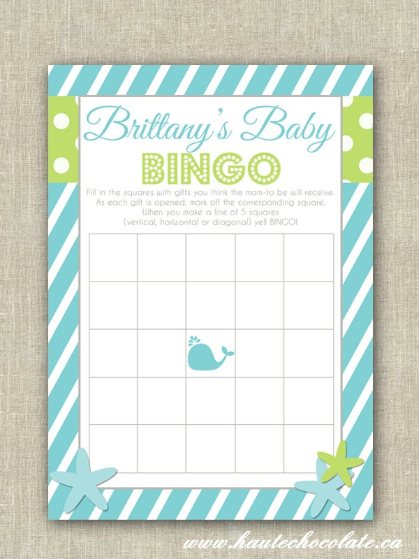 37 best emilys baby shower images on pinterest boy shower baby baby shower bingo game print it yourself under the sea baby solutioingenieria Choice Image