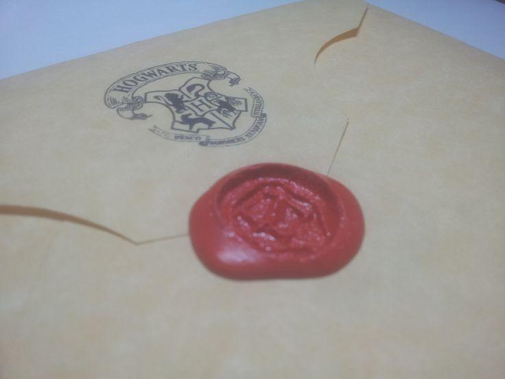 Lettera di ammissione alla fantastica Scuola di Magia e Stregoneria di Hogwarts :)
