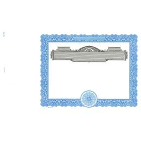 Printable Blank Certificate - Goes 730 - Looking for Stock Certificates? Buy #Blue Bordered #Goes No.#730 Stock #Certificate from Acorn Sales at a great price. Visit our website & order now!