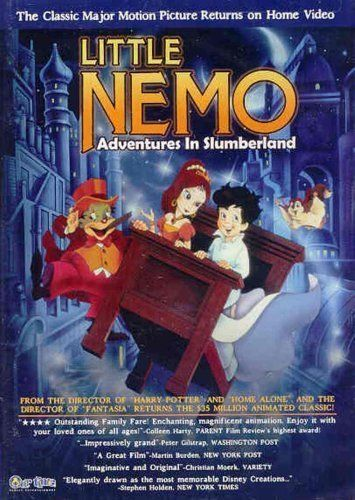 Little Nemo: Adventures in Slumberland (1989) Poster - I loved this movie!!! Was also terrified of it