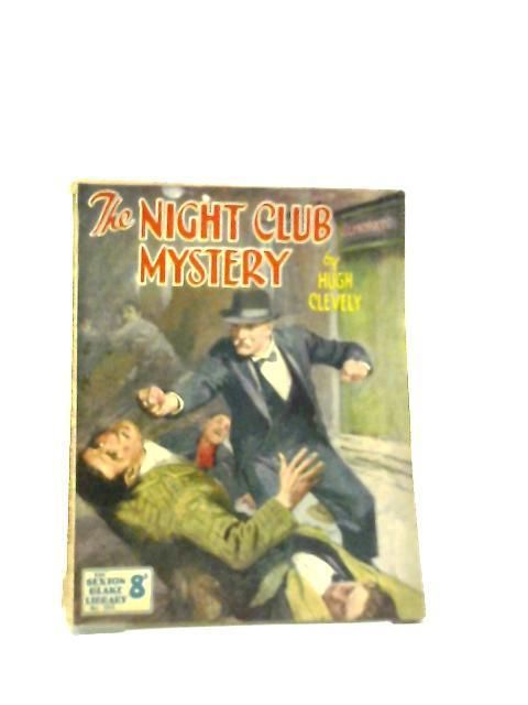 Sexton Blake Library 284 The Night Club Mystery Book Hugh Clevely