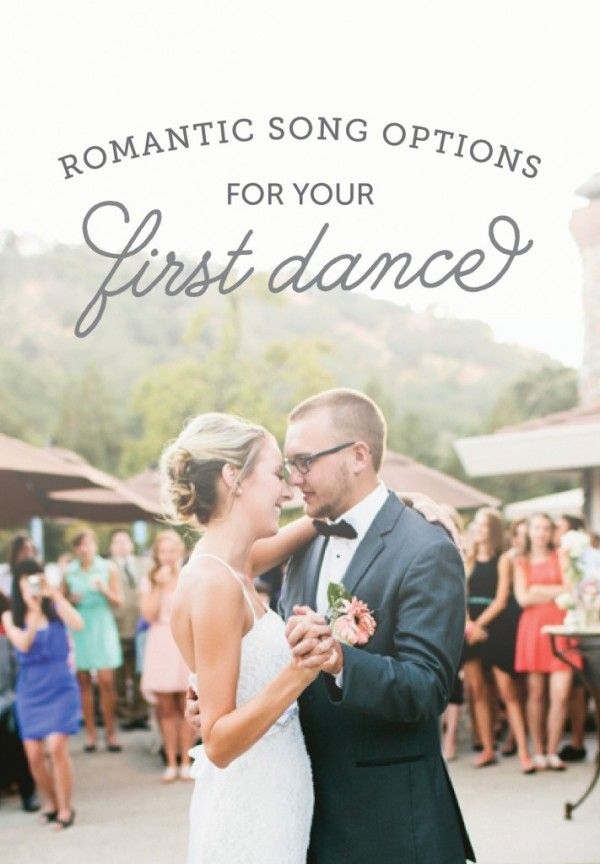 Songs For Your First Dance
