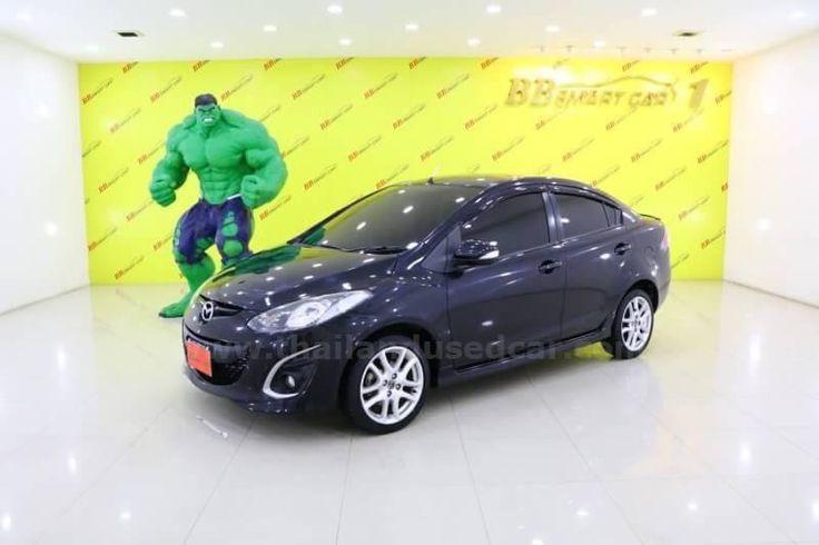 ขายรถเก๋ง MAZDA 2 มาสด้า รถปี2014 สีดำ รหัสประกาศ 6499