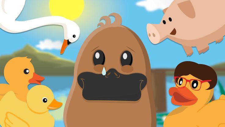 El Patito Feo – Fábulas infantiles cortas – Cuentos animados