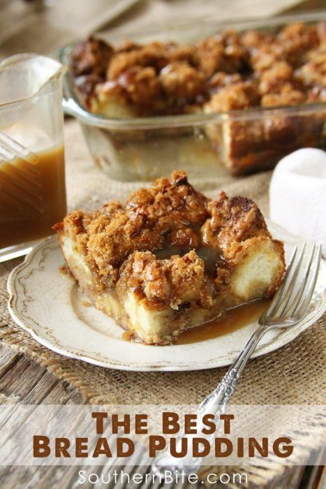 Because all occasions need a classic Bread Pudding. This dessert is ...