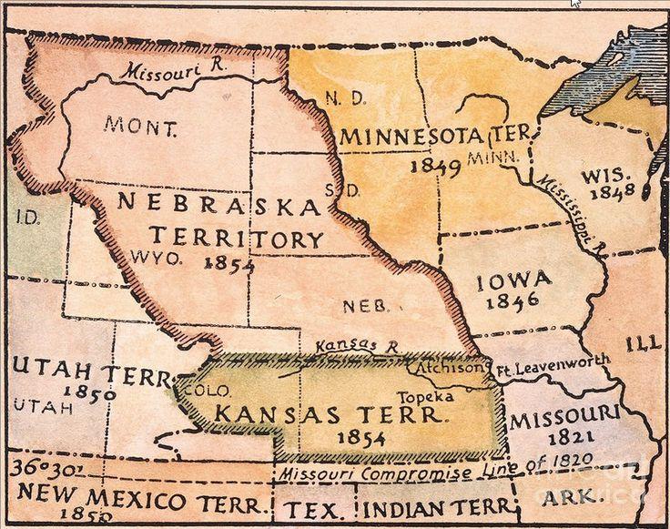 Date of kansas nebraska act