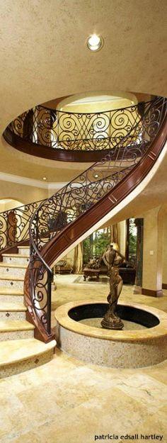 Stairways   Mediterranean   Staircase   Houston   By John Termeer