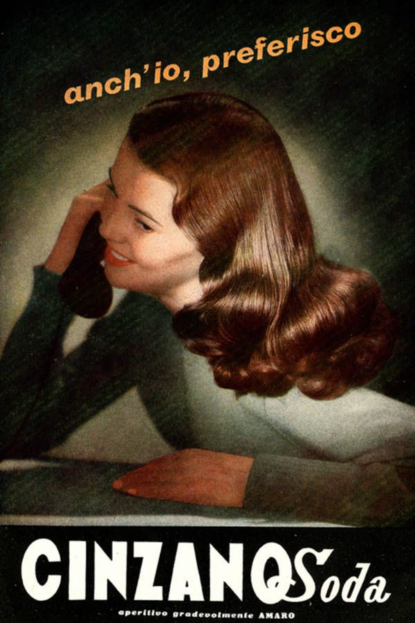 Vintage Italian Posters ~ #illustrator #Italian #posters ~ 1952 - Cinzano