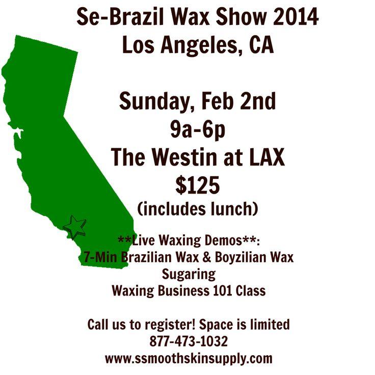Esthetician brazilian waxing class! Se-Brazil Wax Show 2014- Los Angeles, CA Feb 2, 2014 #esthetician #brazilianwaxingclass #smoothskinsupply #se-brazilwax