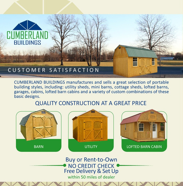 Cumberland Buildings. Garage IdeasGuest HousesStorage ShedsDriveway ...