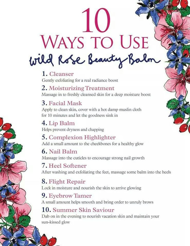 NYR Organic has come up with a product that has soooooo many uses. Get your limited edtion Wild Rose Beauty Balm while they last!