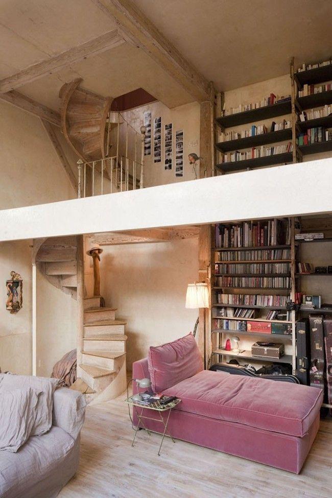 Interiors | Parisian Loft