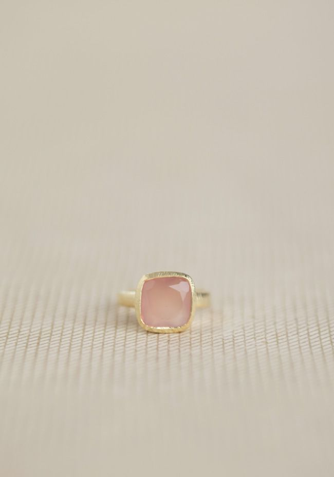 Light Of My Life Indie Pink Stone Ring