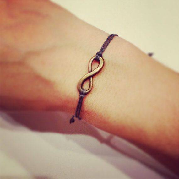 More added! Infinity bracelet by AroundMyWrist on Etsy, 6.95