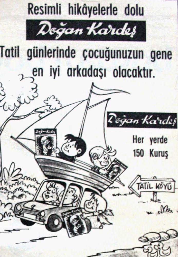 OĞUZ TOPOĞLU : doğan kardeş dergisi 1975 nostaljik eski reklamlar...