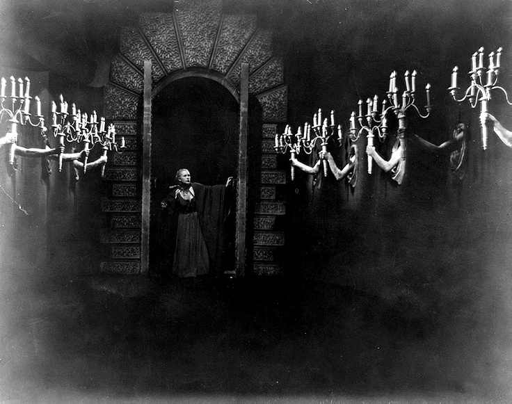 La Belle et La Bete -- I particularly love this scene with all the arms holding out the candelabras.  Genius.