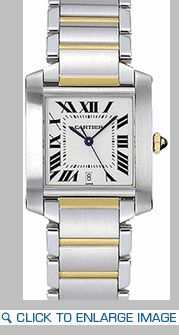 Cartier Tank Francaise - two tone