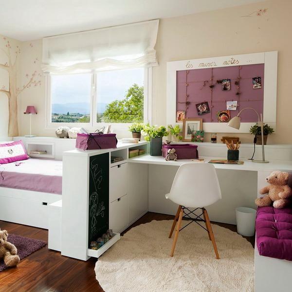 modern children bedroom furniture, kids room colors and room decor ideas