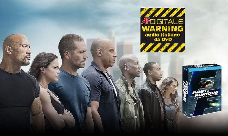Fast & Furious – 7 Movie Collection [Blu-ray] Fast & Furious, il franchise iniziato da Vin Diesel e Paul Walker nel 2001, arriva in una raccolta Blu-ray di 7 film. Il cofanetto di Universal assembla 10 ore di contenuti speciali e l'edizione estesa del settimo capitolo.
