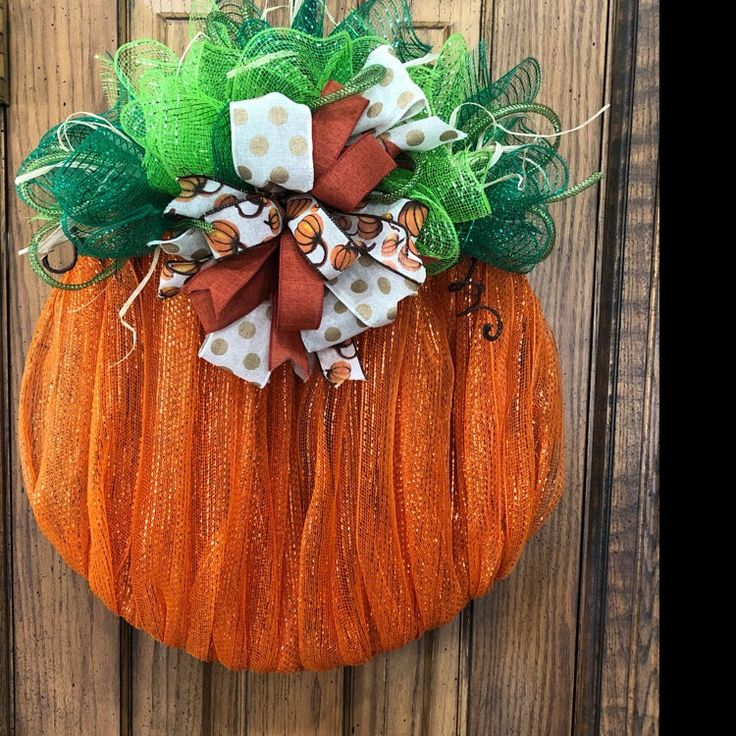 Wreath Tutorial, Pumpkin Wreath Tutorial, DIY Wreath, Fall