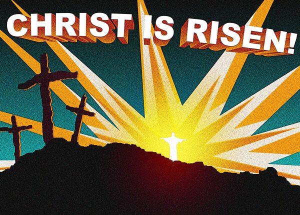 Easter Religious Clip Art | Christ is Risen! - Free ...