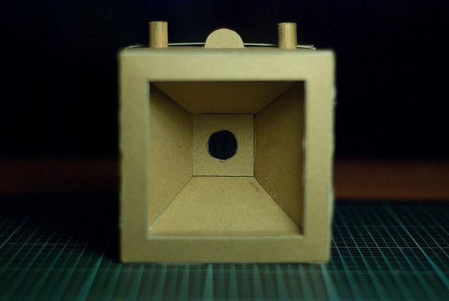 El cubo - la cámara estenopeica de formato medio DiY