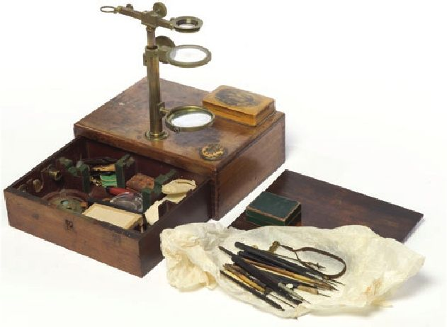 Hooker's dissecting microscope from the collections at the Royal Botanic Gardens, Kew | Mark Nesbitt - Academia.edu