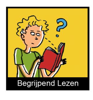 Iedereen krijgt kaartje. Op dit kaartje staat een opdracht die je pas uit mag voeren als de opdracht voor jouw is uitgevoerd. Alle opdrachten worden in stilte uitgevoerd. De lln. weten niet dat ze aan het begrijpend lezen zijn. Het is spannend en de eerste keer weten ze ook totaal niet wat er gaat gebeuren, het blijft spannend met nieuwe kaartjes. Site : http://www.kidsweek.nl/assets/Uploads/voor_leraren/2013-2014/afbeeldingen/_resampled/resizedimage300321-Begrijpend-Lezenkopie.png