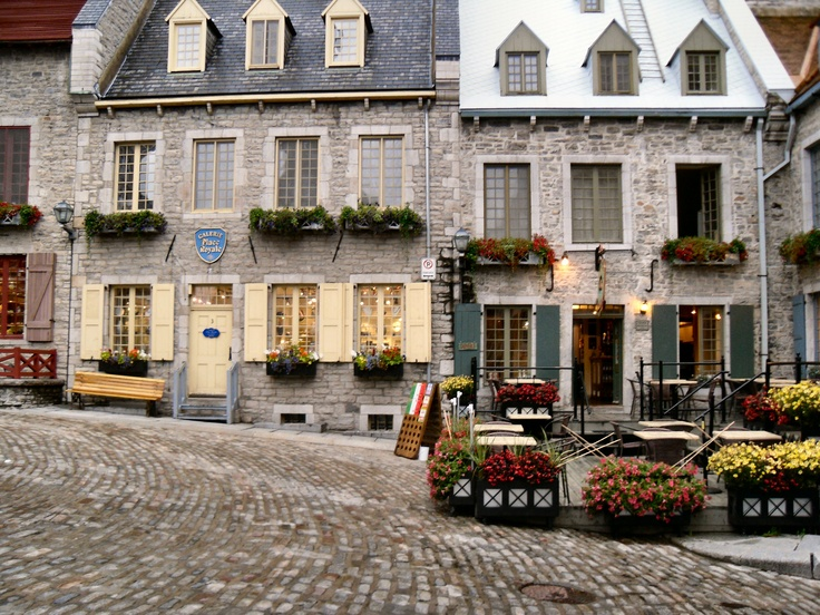 Downtown Old Quebec City.