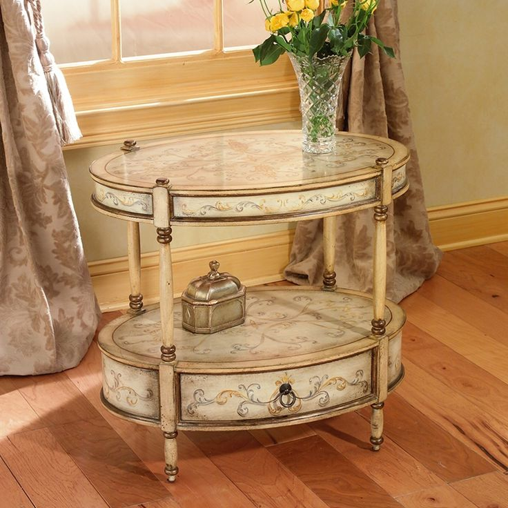 Haute house home case goods accent tables soiree