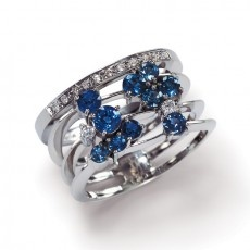 saphire ring by amsterdam sauer