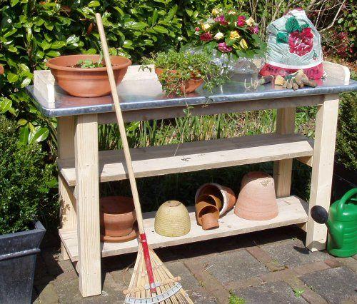 44 best images about Oppot  Werktafels buiten on Pinterest   Gardens, Ladder and Plants