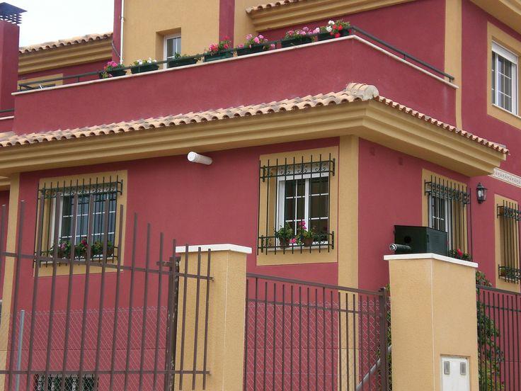 Pintura exterior pintura - Pintura para fachadas exteriores ...