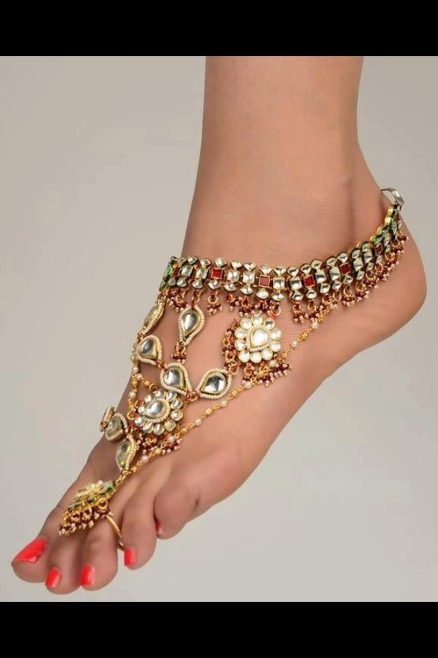17 Best Images About Foot Jewellery On Pinterest