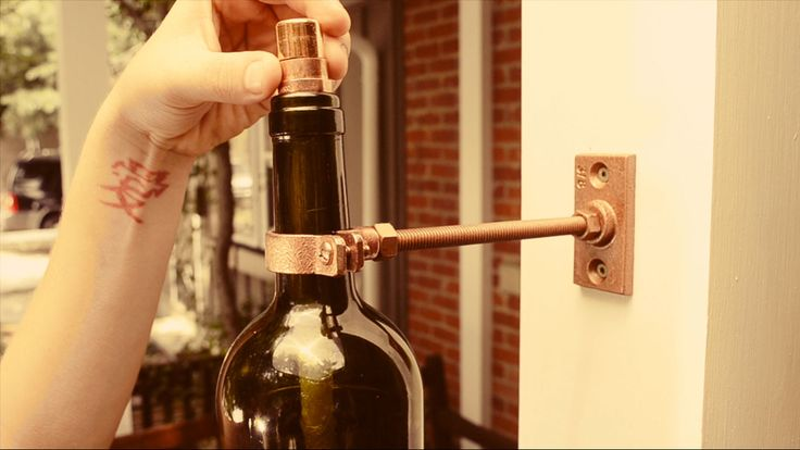 Wine Bottle Tiki Torch - DIY Video