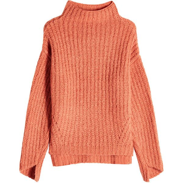 Best 25  Orange turtleneck sweater ideas on Pinterest | Knit ...