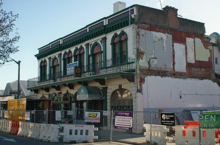 Rangiora, NZ: Robbie's/Junction Hotel (c.1880) (1)