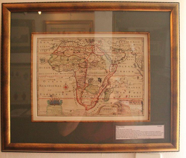 Map of Africa by Nicolas de Fer, 1705