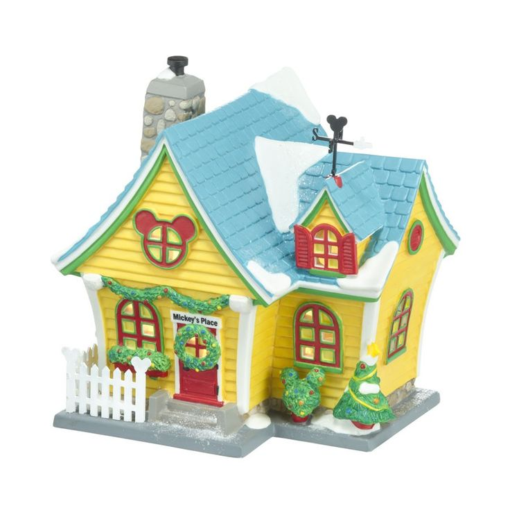 Mickey's Village - Mickey's House   Department 56 Corner