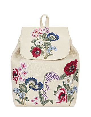 We've got your back when it comes to the hot-right-now embroidery trend – our Poppy backpack is a perfectly pretty style for every day. Showcasing colourful ...