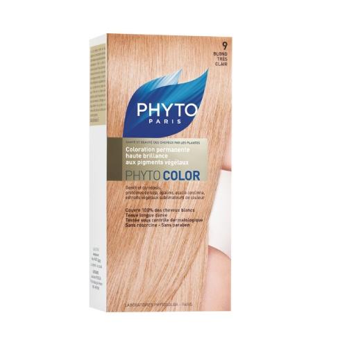Phyto Phyto Color Tinte Rubio Muy Claro  - 9 Con extractos de plantas tintóreas (de 57 a 61% según el tono)