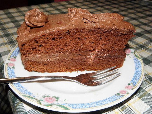 Karcsi főzdéje: Csak csoki-torta