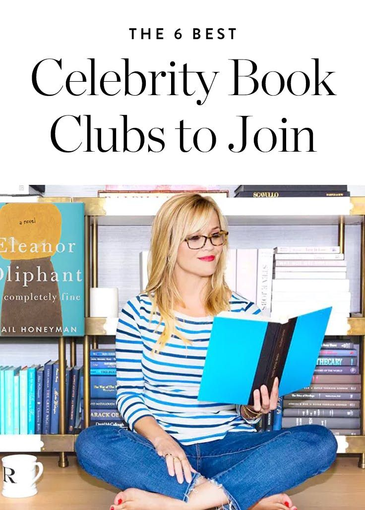 6 Celebrity Book Clubs You Can Actually Join via @PureWow