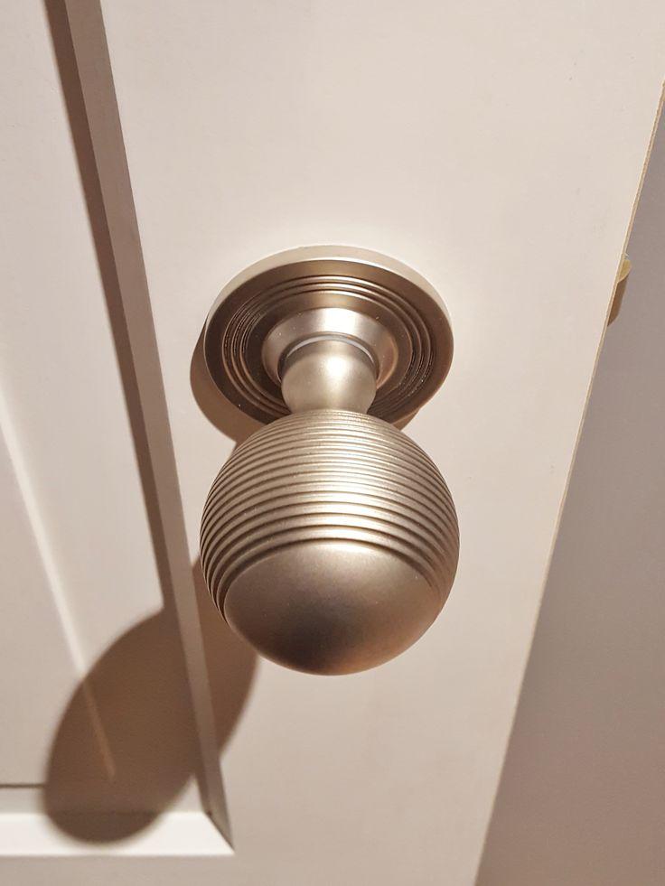 Samuel Heath knob on rose. Installed by The Tidy Tradie - Lock Carpenter.  #samuelheath #doorhardware #doorfurniture #doorknob #doorhandles #doorlock #lockinstaller #handleinstaller #lockfitter #lockinstallation #lockcarpenter #mosman #sydneylockinstaller #sydney
