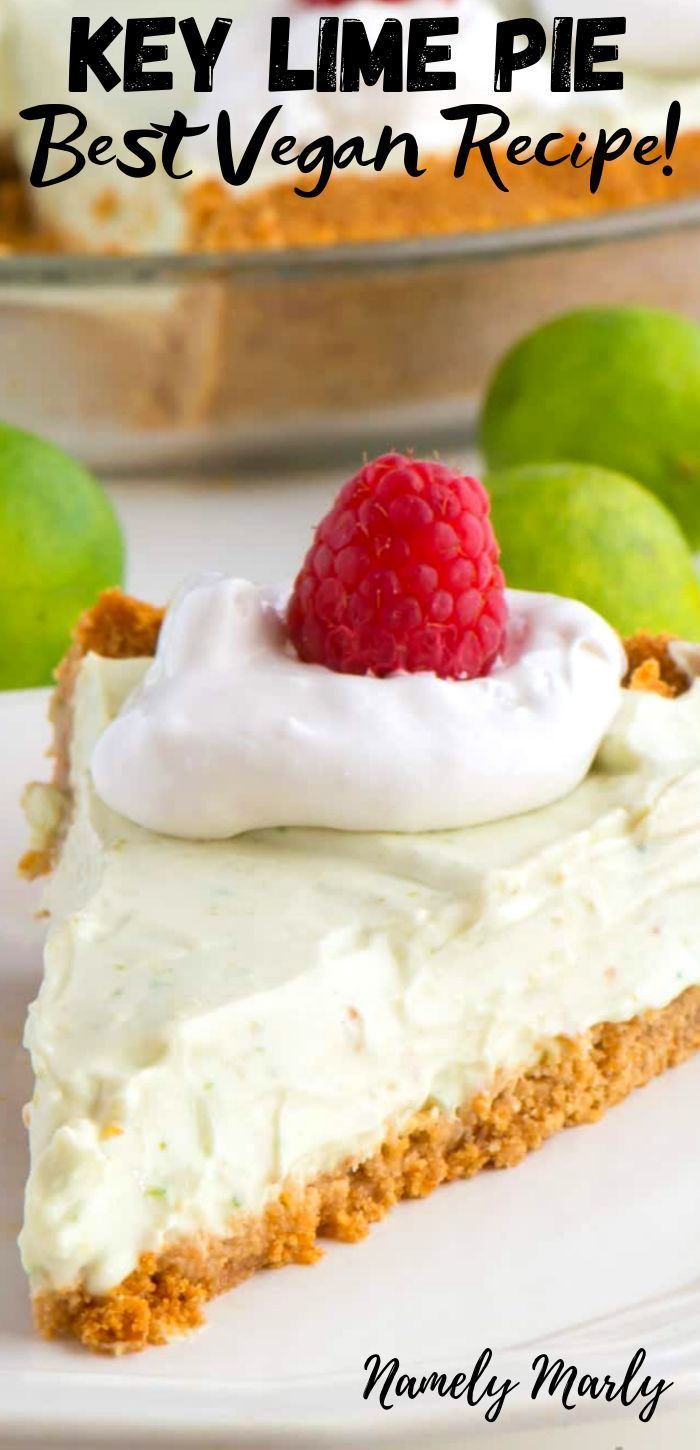Make This Creamy Vegan Key Lime Pie Recipe Today And Enjoy The Delights Of A Dairy Free Key Lime Pi Vegan Key Lime Pie Vegan Key Lime Pie Recipe Vegan Key