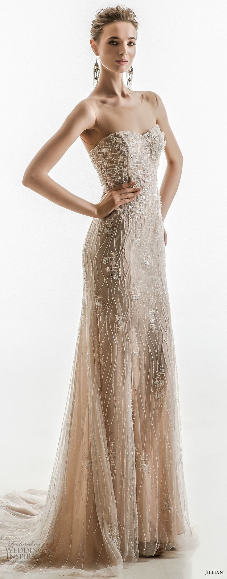 Wedding decorations rose gold october 2018  best Brianaus  images on Pinterest  Night out dresses Nice