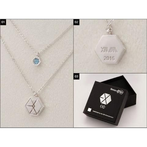 EXO NECKLACE WITH CRYSTAL - manduapparel |  Use my code: 'NAMJINSTHETIC12' for 10% off on manduapparel.com