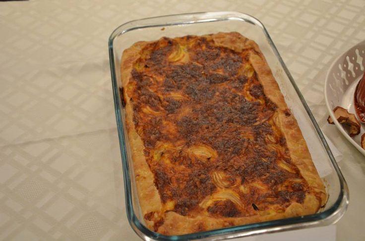 Η κρεμμυδόπιτα της Μαρουσώς Παραδείση #Onion #Pie #Gastronomy #Patmos