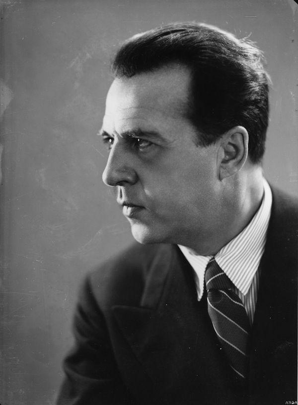 Manlio Villoresi, a Roma Annibale Ninchi-1937 circa