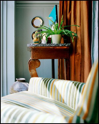 Evolve Residential Boston Via Elements Of Style Love The Fabrics For Chair And Curtains